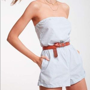 Urban outfitters kimchi blue strapless romper